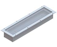 Industrikomponenter A/S - Beslyning - Maskinlamper - Indbyggede Armaturer - Candolux Ledax 100